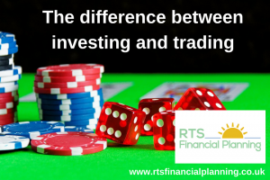 gambling and the difference between investing and trading