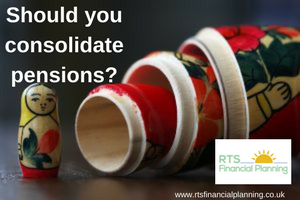 Should you consolidate pensions?