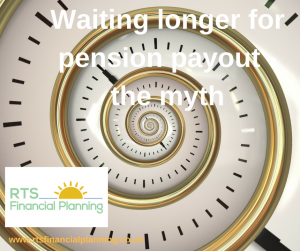 Waiting longer for pension payout