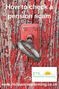 How to check a pension scam