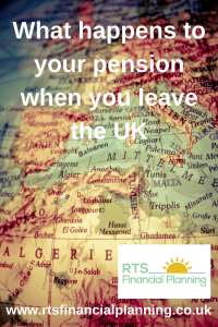 What happens to your pension when you leave the UK