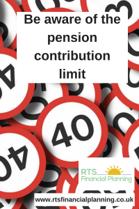 A number of speed limit signs which symbolises the need to be aware of the pension contribution limit