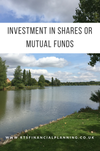 An image of furzton lake in milton keynes symbolising the pooling effect of mutual funds when comparing an investment in shares or mutual funds