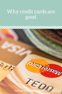 Picture of why credit cards are good