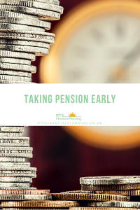 Copy of money and clock taking pension early